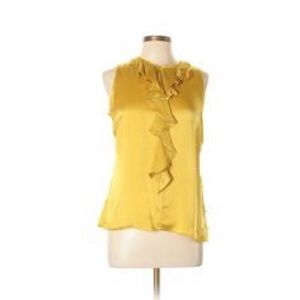 Authentic Milly Silk Sleeveless Blouse